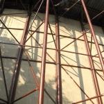 Tišnov – nátěr konstrukce letního kina